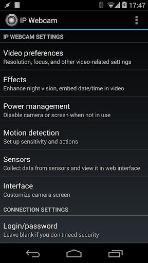 IP Webcam 1.14.22.690 arm for MAC App Preview 1