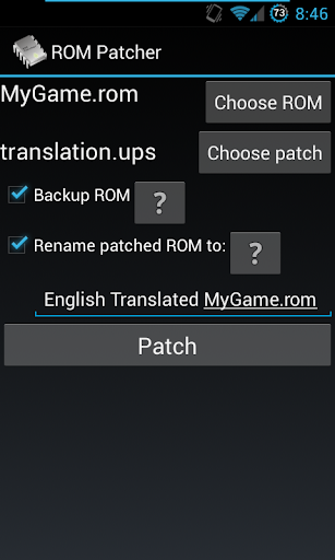 ROM Patcher 2.16 for MAC App Preview 1