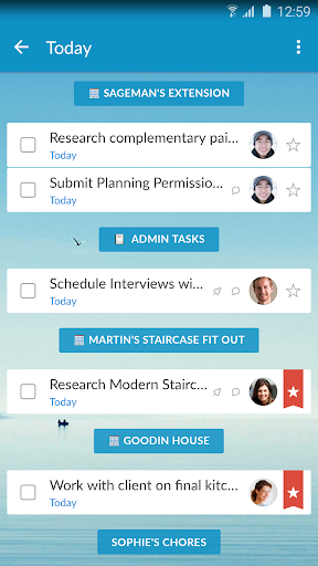 Wunderlist To-Do List amp Tasks 3.4.10 for MAC App Preview 2